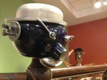 The exhibit, which runs through Feb. 23, features moving sculptures made with thrift store finds. Find it at the Museum of Life and Science in Durham.