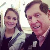Amanda Lamb's daughter and father