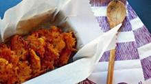 IMAGE: Recipe: Butternut squash sweet potato latke