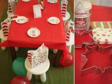 All Wrapped Up Christmas party box features paper goods, cookie-making supplies and more