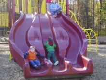 Slide at Honeycutt Park