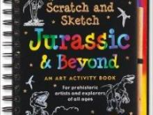 Scratch and Sketch book