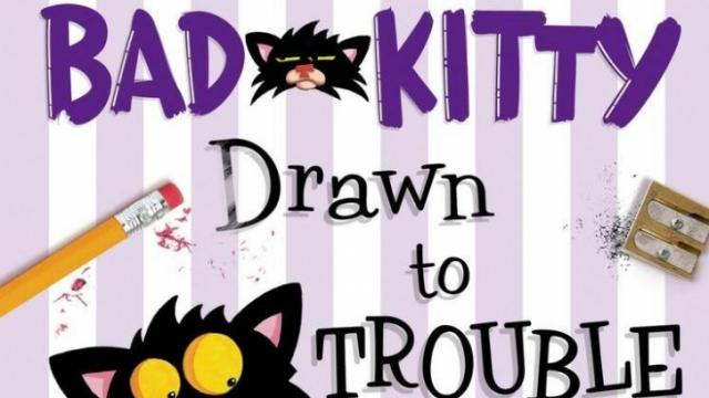 Nick Bruel, author of the Bad Kitty series, stops at Quail Ridge Books on Jan. 9.