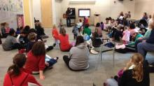 Toddler storytime at Cameron Village Regional Library