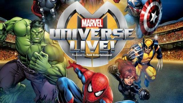 Marvel Universe Live is headed to the PNC Arena in July 2014