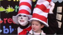 Terri Morley as Cat in the Hat