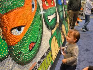 The LEGO KidsFest brought children of all ages to the Raleigh Convention Center on Feb. 28, 2014.