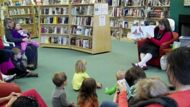Quail Ridge Books offers a weekly storytime at 10:30 a.m., Mondays.