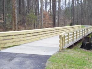 Bridge on the Annie Jones Greenway