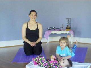 Lauren Musolf with daughters Sarah, 4, and Sammy, 6 months