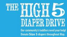 The Diaper Bank of North Carolina seeks size 5 diapers