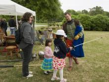 Renaissance Faire at the N.C. Museum of Art