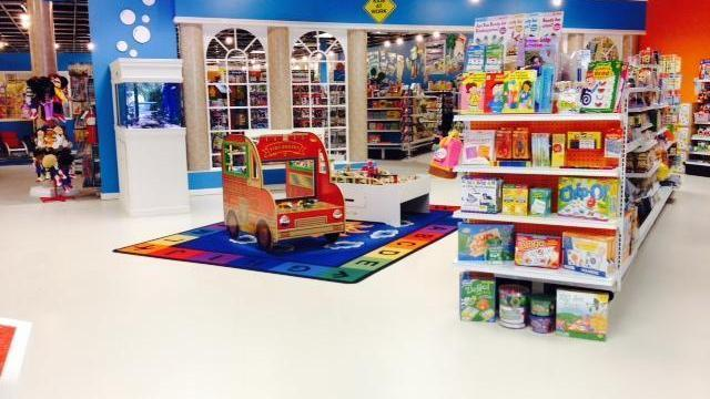 """The """"Teach Me"""" Store on Spring Forest Road in Raleigh will hold monthly storytimes starting in June 2014."""