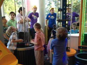Kid Grid at Marbles Kids Museum