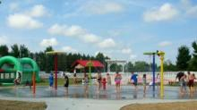 IMAGES: Hill Ridge Farms opens new splash pad