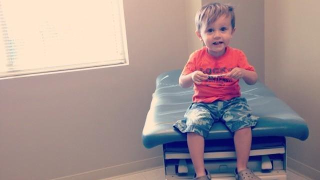 Elias is undergoing treatment for his peanut allergy.