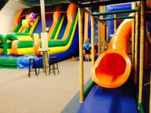 The Raleigh business features inflatables and other indoor fun.