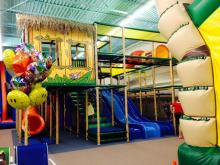 Coconut Charlie's opened in June 2014 and features a collection of inflatables and a three-level indoor play piece.