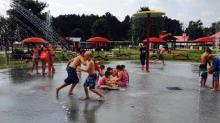 IMAGE: Destination: Splash pad at Hill Ridge Farms