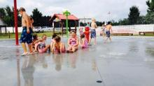 Hill Ridge Farms sprayground, Youngsville