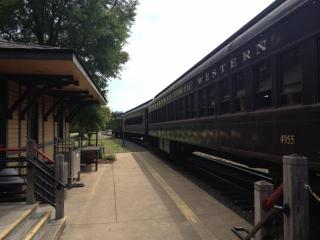 A museum visit includes a 25-minute train ride.