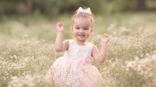 Sophia, winner of Go Ask Mom's Cutest Baby Contest