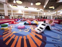 A new, 2,000-square-foot playground will open at Cary Towne Center on Aug. 23. It has an arts, dance, music and literature theme.