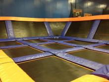 The trampoline park opens to the public Friday, Sept. 5.