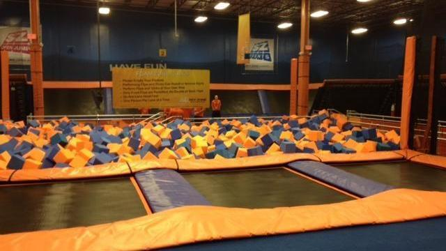 The trampoline park opens Sept. 5.