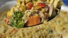 IMAGE: Recipe: Modern tuna pasta casserole