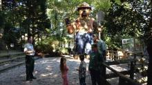 IMAGE: Fair Destination: Smokey Bear at the N.C. Forest Service exhibit