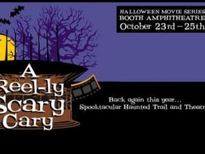 The event features three days of Halloween movies and a haunted house. Courtesy: Facebook