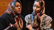 Maya DeAndrea Hamer (left) in RLT's production of Fiddler on the Roof