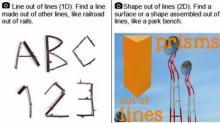 IMAGE: Cary scavenger hunt blends math, art