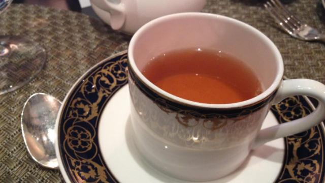 A cup of British Breakfast tea