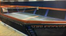 Trampolines installed at SkyZone in Durham.
