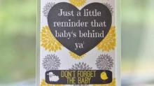 IMAGE: Made by Mom Gift Guide: Little Lamb Big Chicken car reminder tags