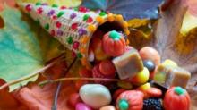 IMAGE: Recipe: Candy cornucopias