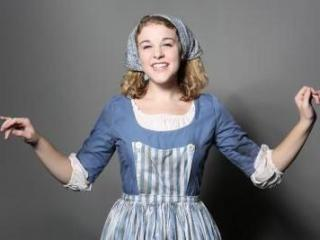 Lauren Knott as Cinderella in Raleigh Little Theatre's 2014 production. Photo credit: Curtis Brown Photography.