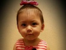Carolina, 0 to 12 month category first place winner in Go Ask Mom's Cutest Baby Contest