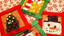 IMAGES: Mess Makers: Holiday crafts
