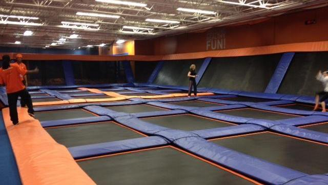 SkyZone Durham opened in December 2014.