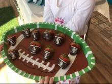 Chocolate Strawberry Footballs from Flour Power Kids Cooking Studio