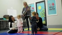 IMAGE: Wee-Arts offers music programs for kids, caregivers with Irish flare