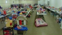 Items await shoppers at a past Take 2 Kids Consignment sale