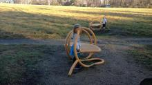 IMAGES: Destination: N.C. Museum of Art's whisper benches