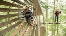 IMAGES: Go Ape treetop adventure course