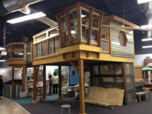Kidzu Children's Museum will reopen April 11 in a new space inside Chapel Hill's University Mall.