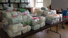 IMAGES: Destination: Volunteering with Diaper Bank of North Carolina