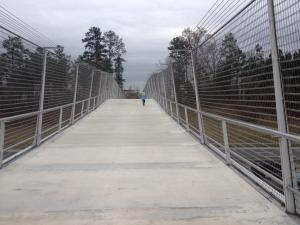 Pedestrian Bridge over I-40